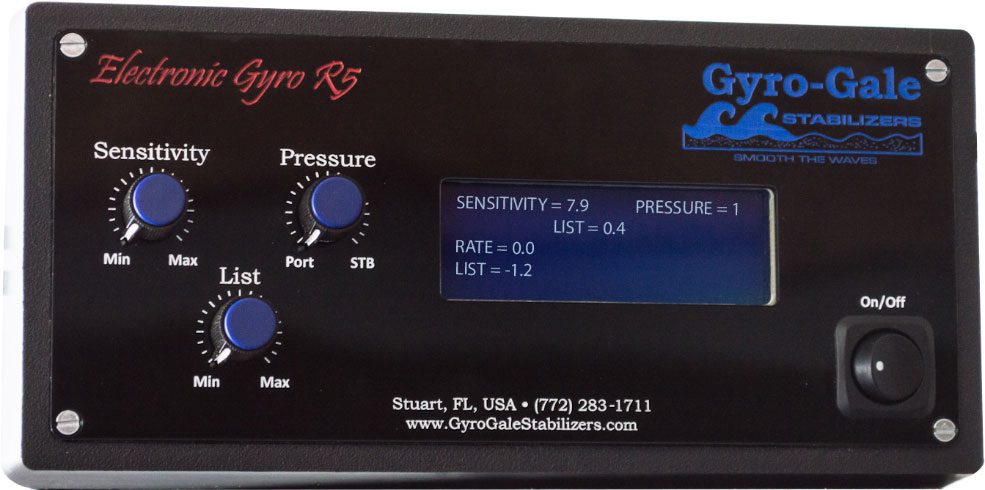Gyro Gale Stabilizers Electronic Roll Gyro